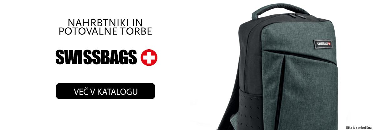 nahrbtniki in potovalne torbe Swissbags