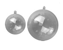 Dvodelne plastične krogle