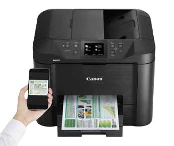 Večnamenski barvni brizgalni tiskalnik Canon Maxify MB5450
