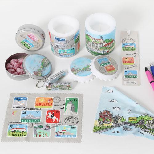 SLO Souvenir stamps
