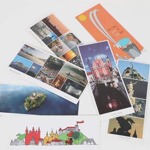 SLO Souvenir readers, postcards